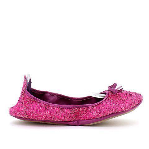 GOODTIMES 2 foldable flats in magenta/glitter. #mybetsonBetts #BettsRaceDayReady #BettsShoes #shoes
