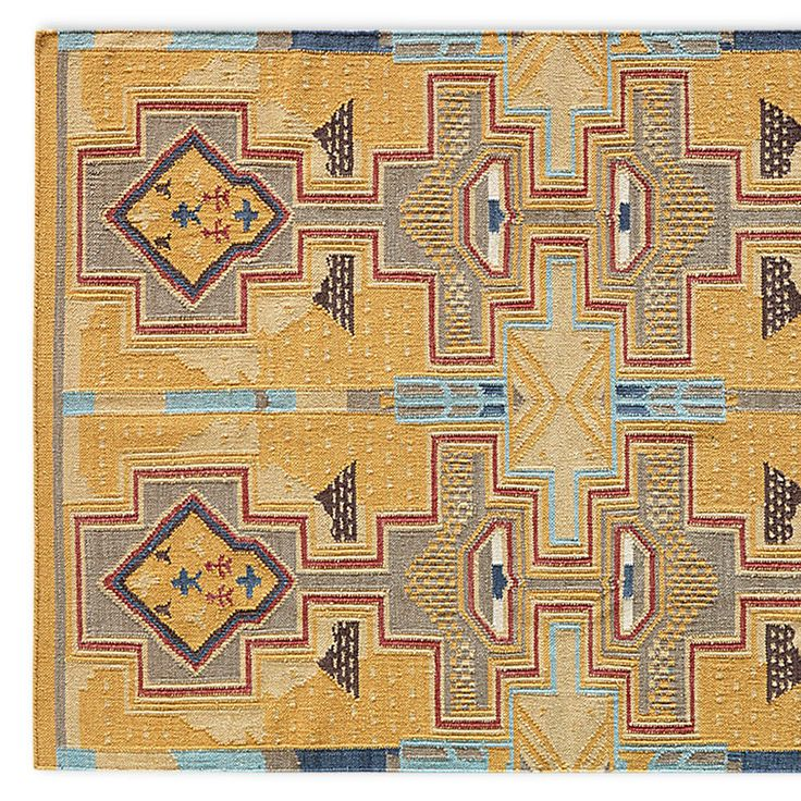 Sun Canyons Dhurrie Rug 8x10 When We Discovered An Antique At A Flea