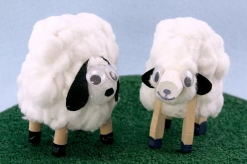 Paper Cup Lambs | Sophie's World #craft #lamb