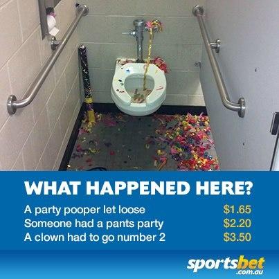 Novelty betting - Toilet humour - Sportsbet.com.au