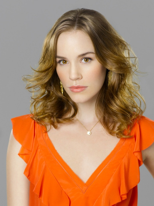 Revenge (TV show) Christa B. Allen as Charlotte Grayson. (I like her long dark hair better! But this is still cute!!)