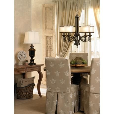 Kichler lacey collection 5 light chandelier products lights and chandeliers - Kichler dining room lighting ideas ...