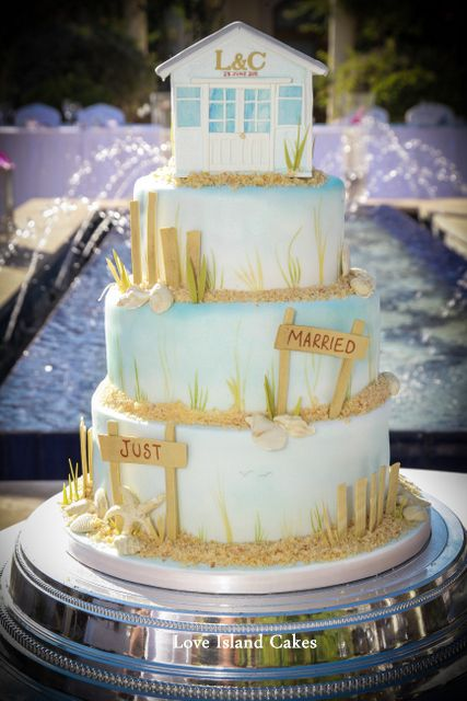 beach wedding cakes 2 tier island cakes novelty a collection of food and drink 11180