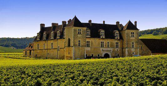 Château du Clos.Vougeot. Bourgogne