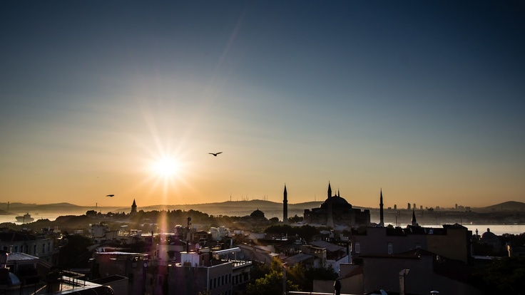 View of Istanbul, Turkey