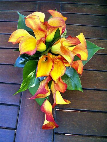 Calla Lilly Wedding Bouquets