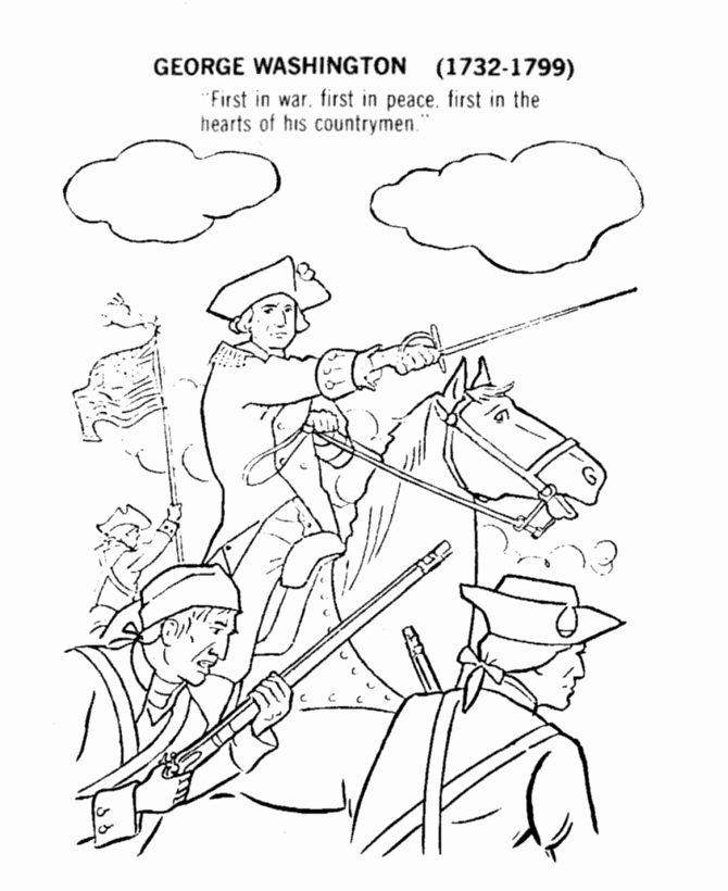 George Washington Coloring Page Best Of George Washington Coloring Pages Best Coloring Pages For In 2020 Flag Coloring Pages Coloring Pages George Washington Printable