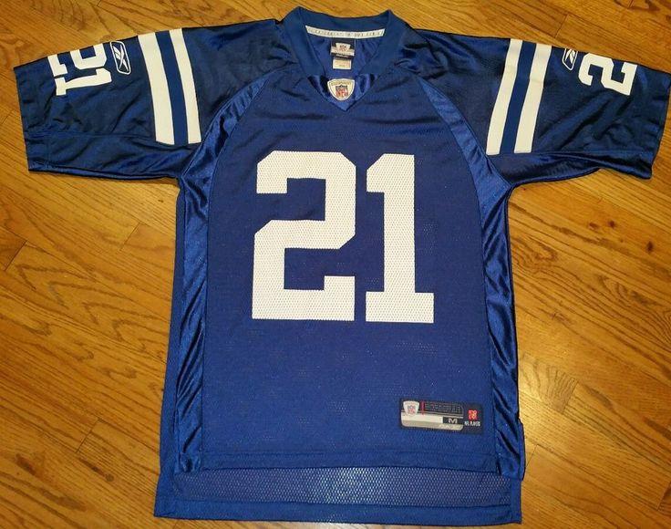 7189583fddc ... Peyton Manning 18 Indianapolis Colts Football Jersey Mens Medium NFL by Reebok  Reebok IndianapolisColts INDIANAPOLIS COLTS ...
