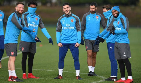 Arsenal news: Gunners train ahead of Huddersfield clash but what are they laughing at?   via Arsenal FC - Latest news gossip and videos http://ift.tt/2zN4yop  Arsenal FC - Latest news gossip and videos IFTTT