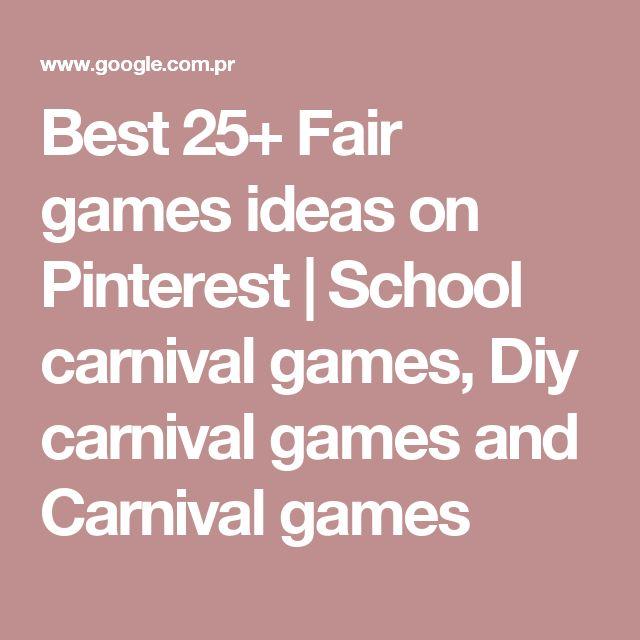 Best 25+ Fair games ideas on Pinterest   School carnival games, Diy carnival games and Carnival games