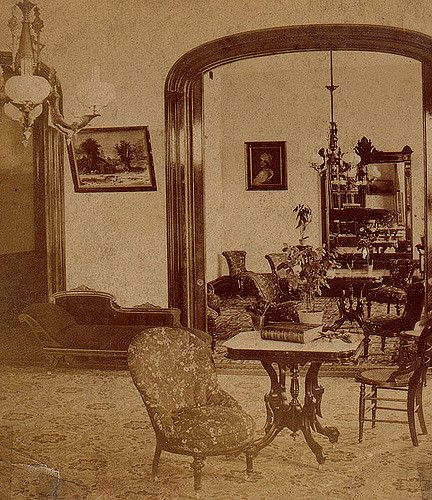 Add modeling like this to living room arch Battlecreek interior 1870's