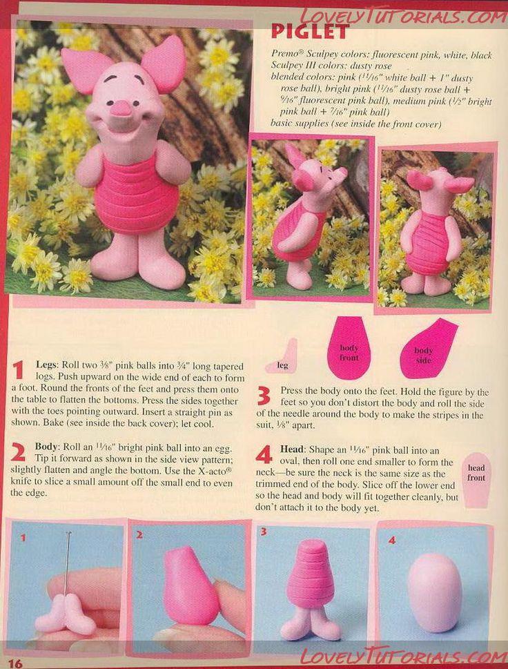 Piglet www.decorazionidolci.it Idee e strumenti per il #cakedesign