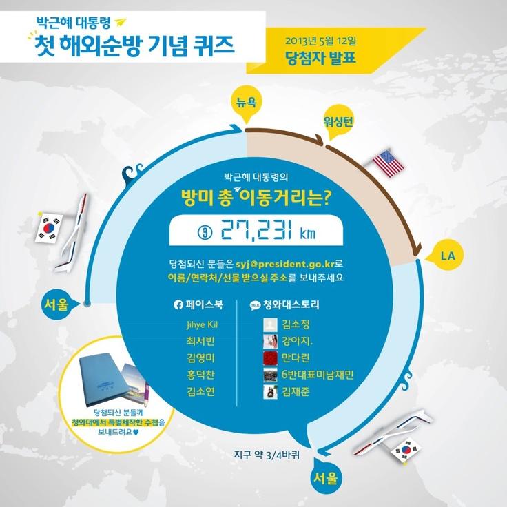 2013 청와대 이벤트 콘텐츠 http://vo.to/yhg