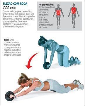 postura correta para fazer abdominal - Pesquisa Google