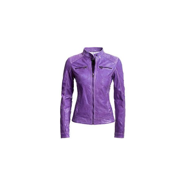 Danier : outlet : women : jackets & blazers ❤ liked on Polyvore featuring outerwear, jackets, leather jacket, purple leather jacket, purple blazer, danier, blazer jacket and purple jacket
