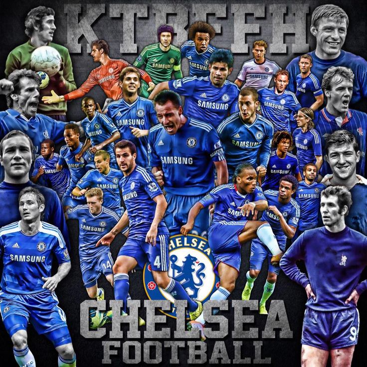 Chelsea FC - Keep The Blue Flag Flying High!