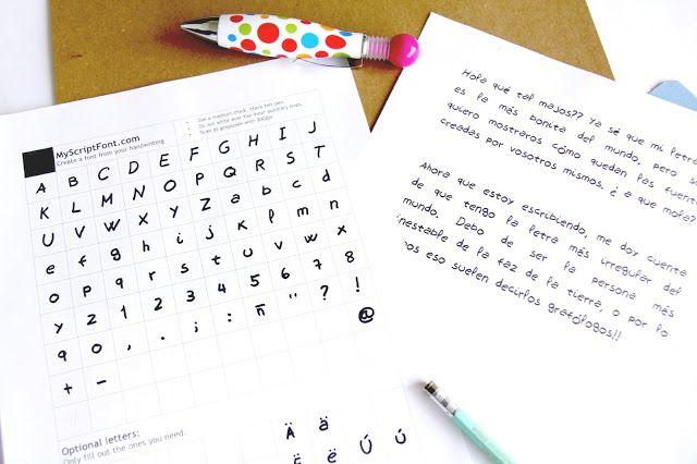 Crea tus propias fuentes de texto   Creative Mindly