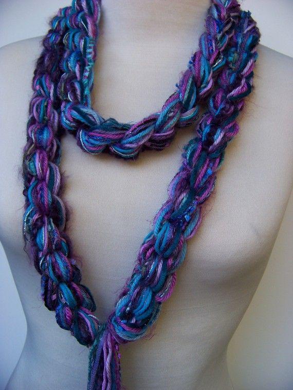 221 best 1Skinny scarves images on Pinterest   Crochet ideas ...