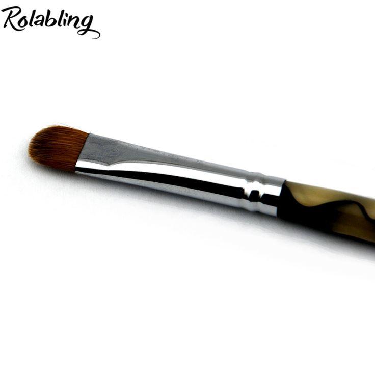 100% Kolinsky Sable Französisch Pinsel 2 way Acryl UV Gel Nagel Nagel-kunst-bürsten-feder-builder Set nail art pinsel BIEGEN nagel punktierung stift