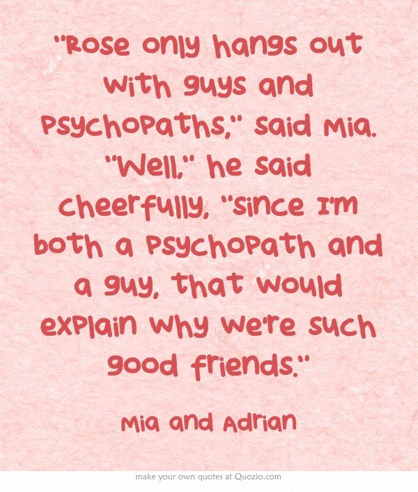 Vampire Academy Quotes   Mia and Adrian