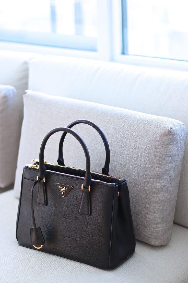 My Prada Saffiano Double Zip Review Dream Designer Handbags Pinterest Bags And