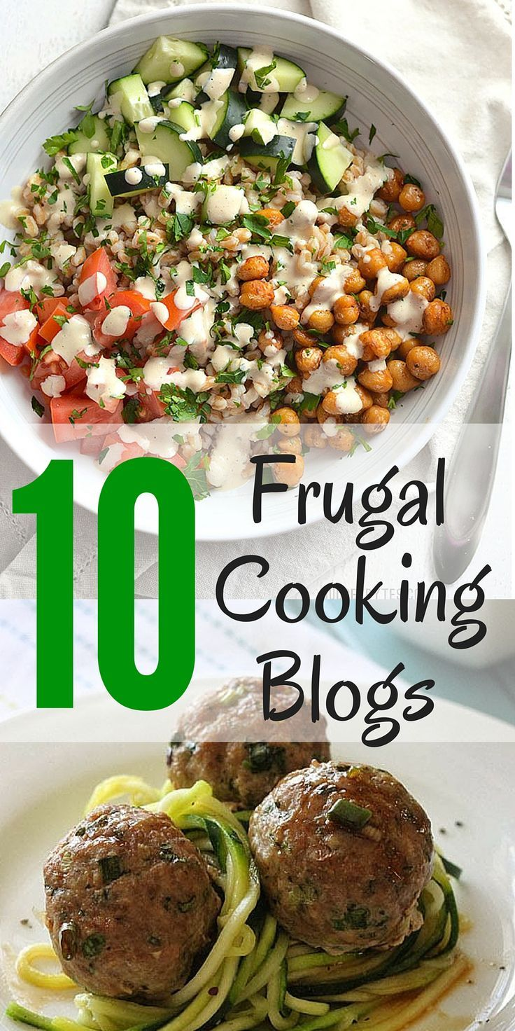 Recipes from these frugal cooking blogs are so delicious nobody will ever know you're cooking on a budget!