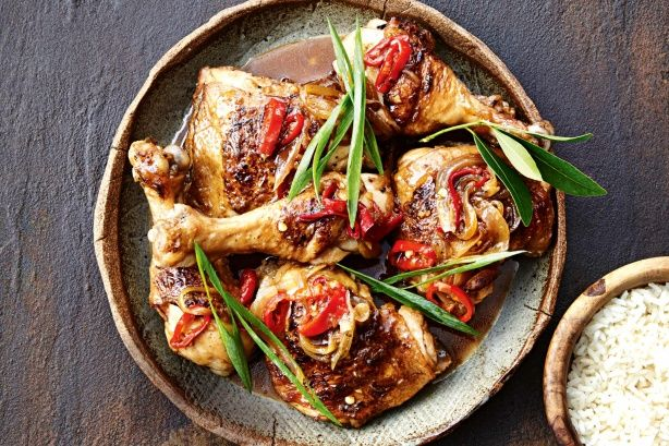 Marion Grasby adores the rich, sweet and sour flavours of this classic Filipino dish. Using chicken marylands makes this dish budget-friendly but still super tasty - now that's a winning combination!