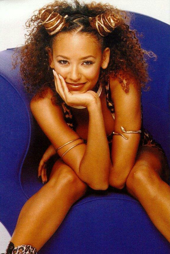 Scary Spice 'Melanie Brown' Everyone at my elementary school told me I looked like her. I wish!
