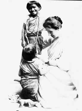 Amy Carmichael, Christian missionary working in India, who was the first person brave enough to rescue and shelter children trapped in sexual slavery.  During her ministry she rescued over 1,000 children.