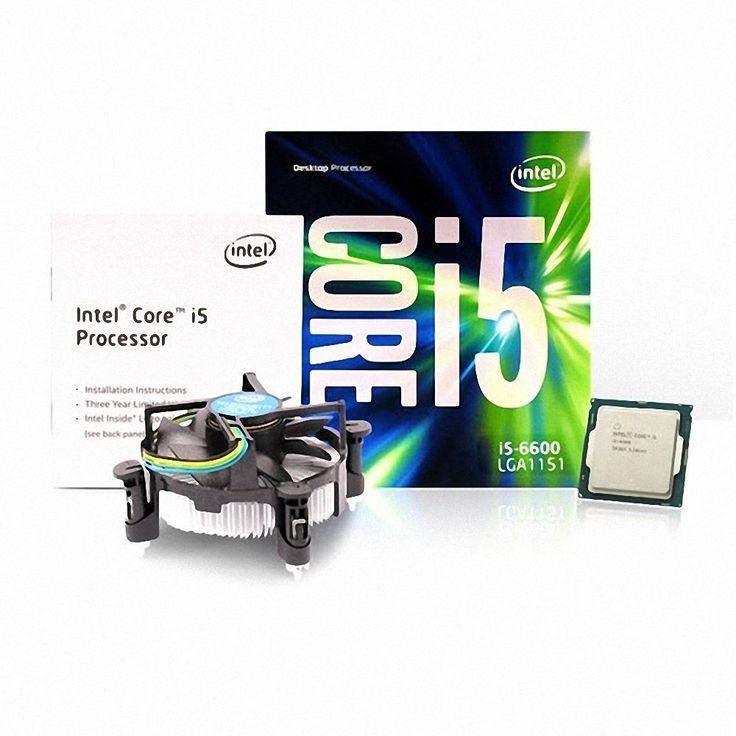 Intel Core i5-6600 6th Processor SKYLAKE 2-core LGA 1151 3.3GHz 6M Cache CPU #Intel
