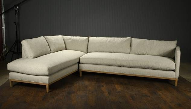 Holloway Sectional Sofa in Spa Fabric Sectional sofa