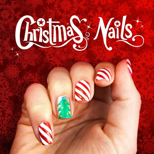 SCOTCH MAGIC NAILS: CHRISTMAS TUTORIAL - A Little Craft In Your DayA Little Craft In Your Day