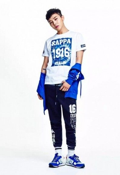 It's been announced that Korean superstar and Big Bang leader G-DRAGON has become an official spokesperson for Italian sportswear label Kappa.