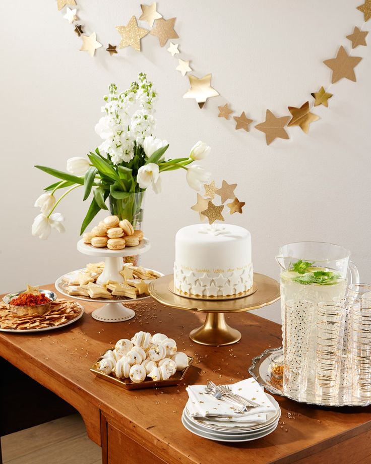 Sparkle & surprise baby shower - We show you how to create a beautiful tea with a clever cake that contains the biggest surprise of all.