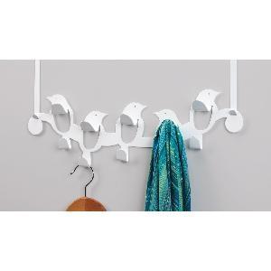 High Quality Umbra Birdseye Steel Over The Door Multi Hook, White Photo