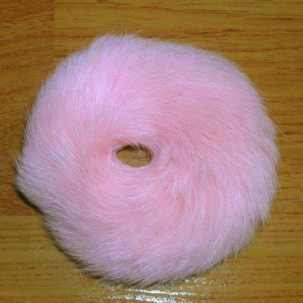 100% Real Natural Soft Rabbit Fur Hair Scrunchie Hair Ponytail RD03