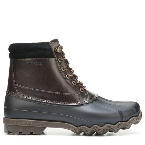 Sperry Top-Sider Men's Brewster Duck Boots (Black/Amaretto) - 12.0 M