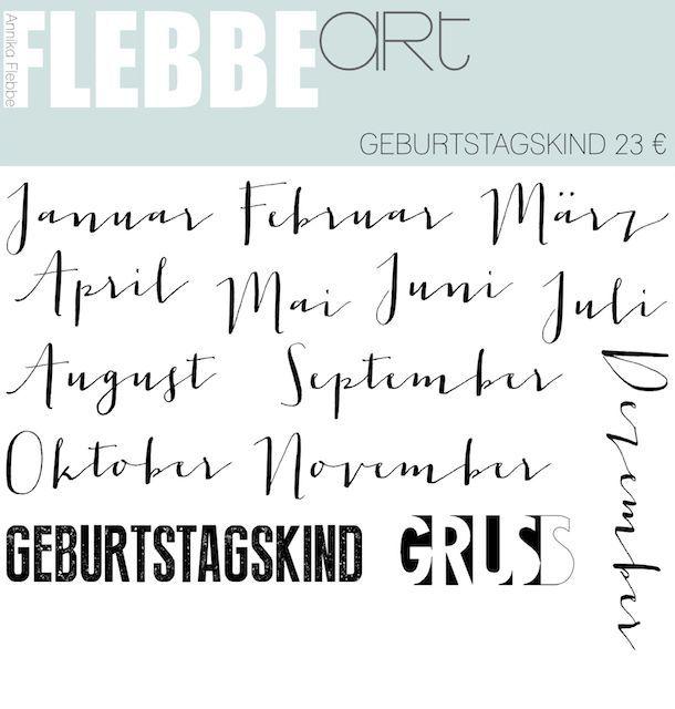 FlebbeArt: neue Stempelsets