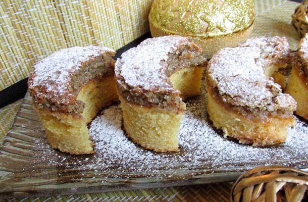 Diós holdas süti a nagyi receptje szerint | femina.hu