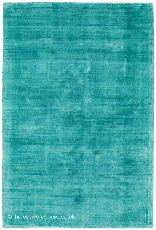Trendy Shiny Turquoise Rug, a luxury hand-woven modern rug made from 100% vegetable silk (available in 3 sizes) http://www.therugswarehouse.co.uk/modern-rugs3/trendy-shiny-rugs/trendy-shiny-turquoise-rug.html #rugs