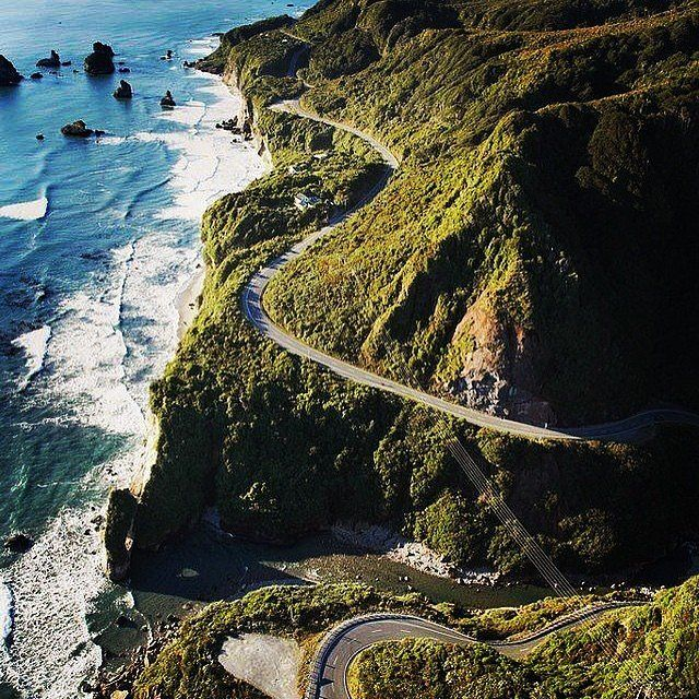 Where: Big Sur, CA When: April Why you should go: The Big Sur International Marathon is known as one of the most beautiful courses in the world — one look at this winding road and it's not hard to see why. Register here.