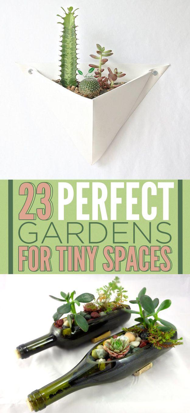 23 Inspiring Gardens You Can Grow In Your Tiny Flat