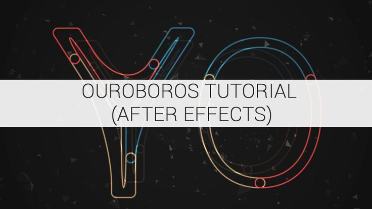 In this tutorial, we'll checkout a sweet After Effects preset called Ouroboros. Created by Sander Van Dijk, Ouroboros adds multiple strokes to the paths of s...