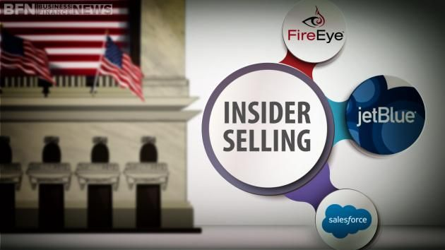 Business Finance News talks about the latest insider selling at salesforce.com,inc. (NYSE:CRM), JetBlue Airways Corporation NASDAQ:JBLU) and FireEye Inc (NASDAQ:FEYE).