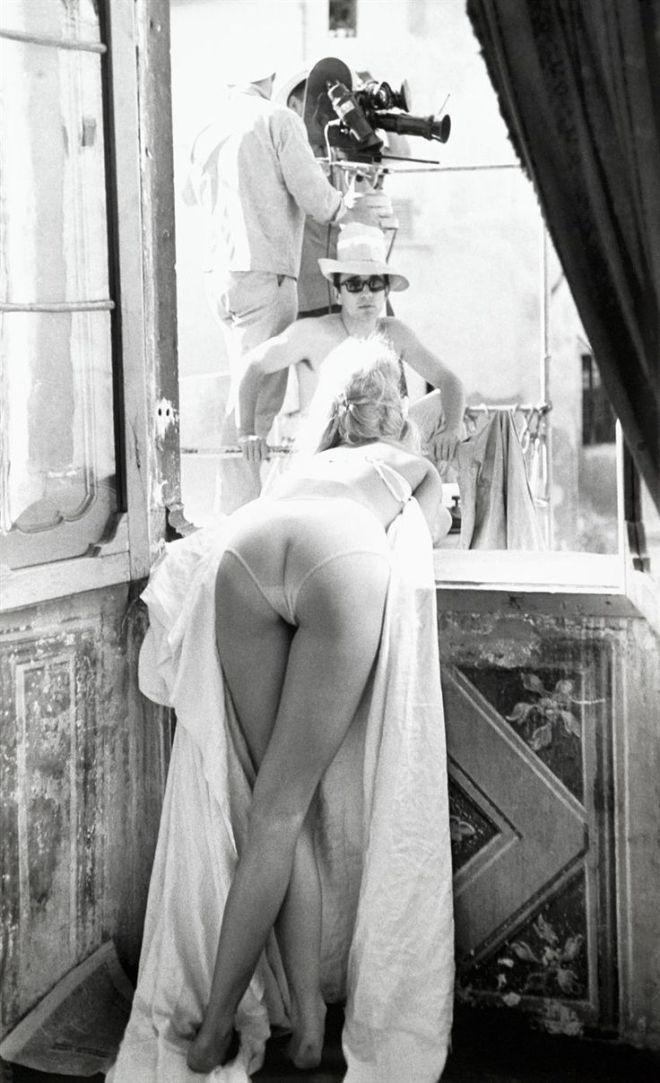 6_Brigitte Bardot talking to Louis Malle on the set of Vie Privée, Rome, 1961.jpg