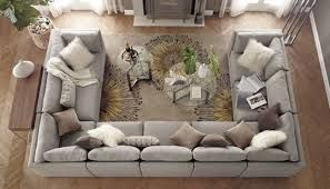 image result for industrial u shape couch