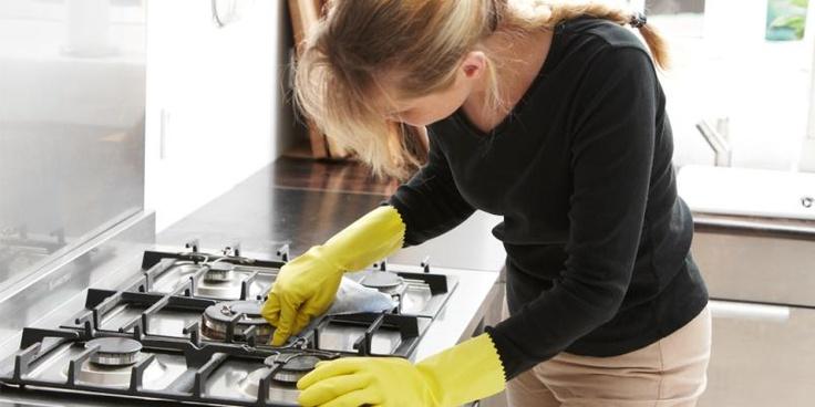Smarte tips til rengjøring av kjøkken.