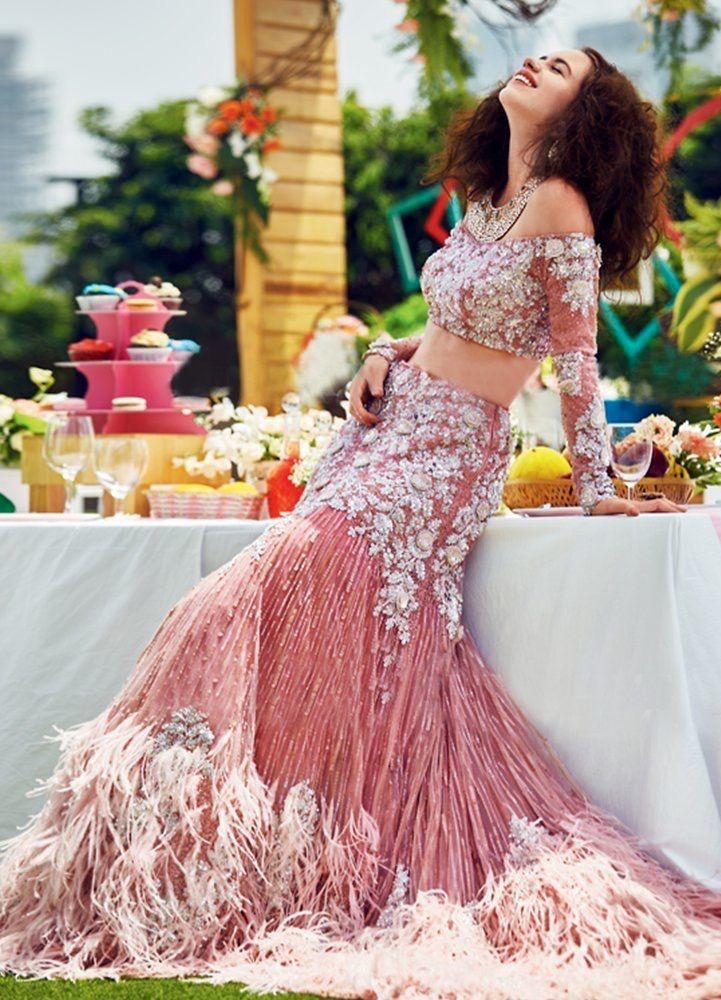Extravagant creation by Manish Malhotra.