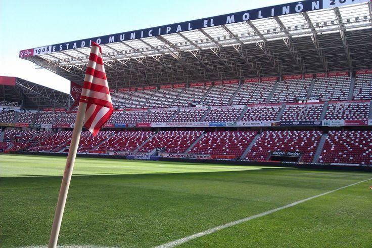 @SportingGijón banderín del corner en El Molinón #9ine