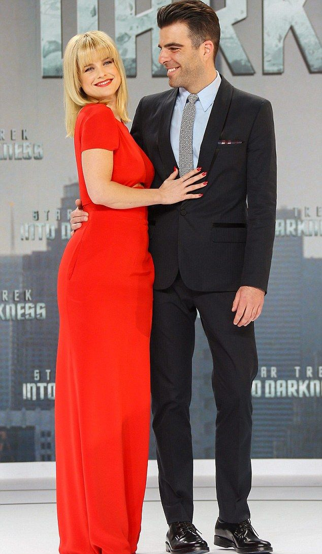 Alice Eve and Zachary Quinto
